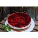 Kodujuustu-jõhvika tort 1,6kg