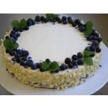 Mustika-toorjuustu tort 1,7kg